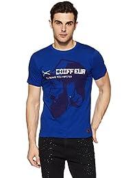 Indigo Nation Street Men's Solid Slim Fit T-Shirt