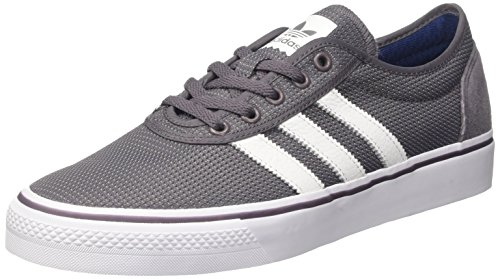 size 40 f7b41 e653a adidas Unisex Adults Adi-Ease Skateboarding Shoes, Multicoloured  (tragreftwwht