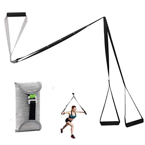 Cretee Schlingentrainer Sling Trainer Schlingentraining Set mit Türanker für Ganzkörpertraining zuhause oder im Fitnessstudio