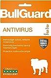 Bullguard Antivirus 2019 - Lizenz für 3 Jahre und 3 PCs! Windows 10|8.1|8|7|Vista [Online Code]