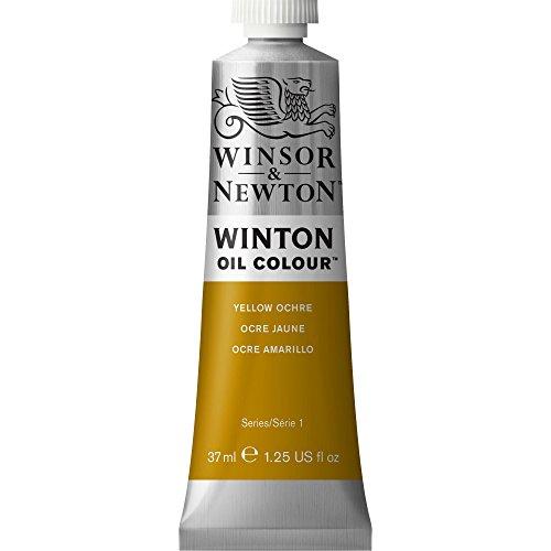 Winsor & Newton Winton - Tubo óleo, 37 ml, color ocre amarillo