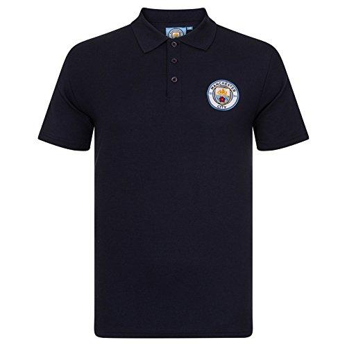 Manchester City FC - Polo oficial hombre - Con escudo