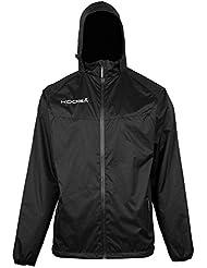 Kooga infantil k502b/41652Elite Barrier chaqueta, Infantil, K502B/41652, negro, XL