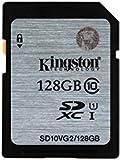 Kingston 128 GB UHS Class 1/Class 10 SDXC Flash Memory Card