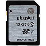 Kingston Technology - SD10VG2/128GB - Carte SD UHS-I SDHC/SDXC Classe 10 - 128Go