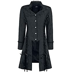 Poder prohibido se convierte en su chaqueta larga línea - Black / M