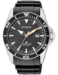 Citizen Herren-Armbanduhr XL Promaster Analog Quarz Kautschuk BN0100-42E