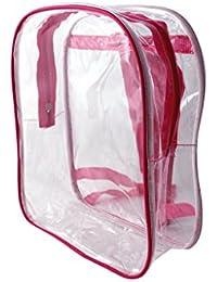Preisvergleich für GIFT WORLD, Kinderrucksack Trasparente/Rosa