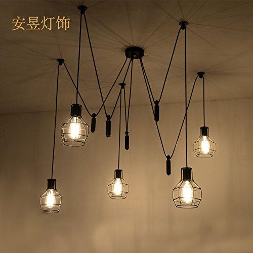 Buluke Moda illuminazione decorata sala Ristorante Hotel Iron considerando il loro lampadario