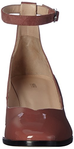 HUGO Damen Debby-p 10199301 01 Riemchenpumps Braun (Open Brown)