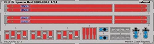 eduard-124-sparco-red-2003-2004-seatbelt-photo-etch-detail-set-24015-by-eduard