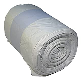 WFB 100 Abfallbeutel/Müllbeutel - 60L - 60x72cm - 14 My stark - transparent - 1 Rolle=100 Beutel