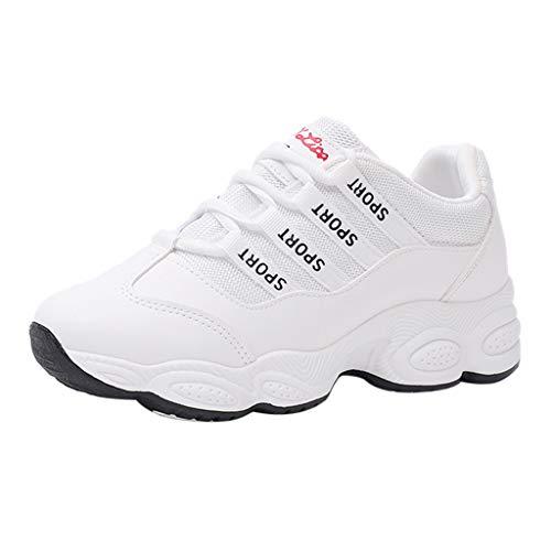 POLPqeD Scarpe Sneakers estive Eleganti Donna Scarpe da Ginnastica Donna Scarpe da Corsa Donna Sportive Scarpe da Lavoro Donna Scarpe Donna Stringate - Donna Scarpe Moda Sportive