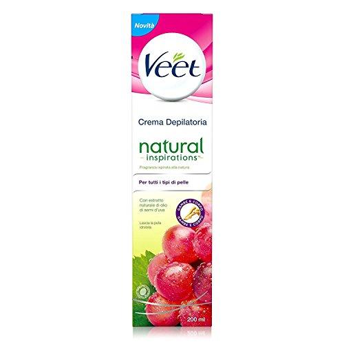 Veet - Natural inspirations crema depilatoria traubenkernöl