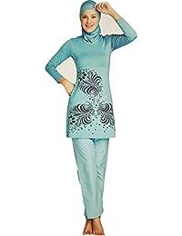 YEESAM Muslimischen Badeanzug - Muslim Islamischen Bescheidene Badebekleidung Modest Swimwear Beachwear Burkini für muslimische frauen