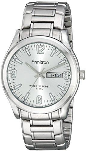 armitron-20-5006svsv-da-fecha-del-hombre-silver-tone-dial-y-reloj-de-pulsera