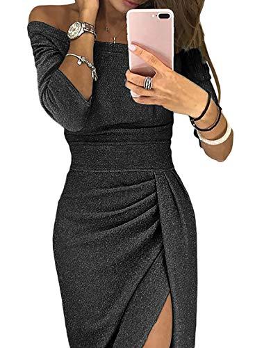 Aleumdr Mujer Vestido De Noche Falda Elegante Para Fiesta Vestido De Moda Size S Xxl
