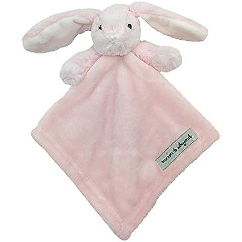 Mantas y más allá de conejo con rosa puntos manta de seguridad