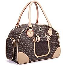 Pet Carrier Transporttasche Tragetasche Haustiertasche für Hunde Katze Handtasche Hundebeutel GB07