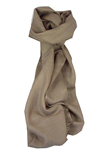 foulard-en-cachemire-fin-motif-karakoram-birds-eye-weave-french-beige-approprie-pour-hommes-et-femme