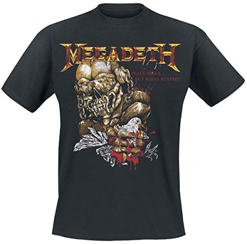 Megadeth Peace Sells But Who'S Buying ? Camiseta Negro S