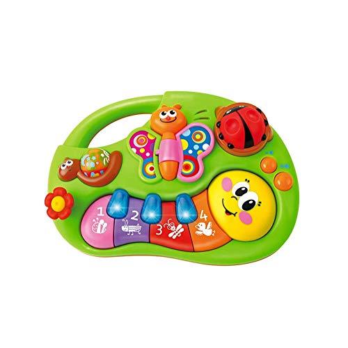 Baby-Musik-Spielzeug-Klavier-Tastatur-Licht Aufklärung Puzzle Spielzeug für Kinder elektronische Orgel Infant Toy 1 Satz -