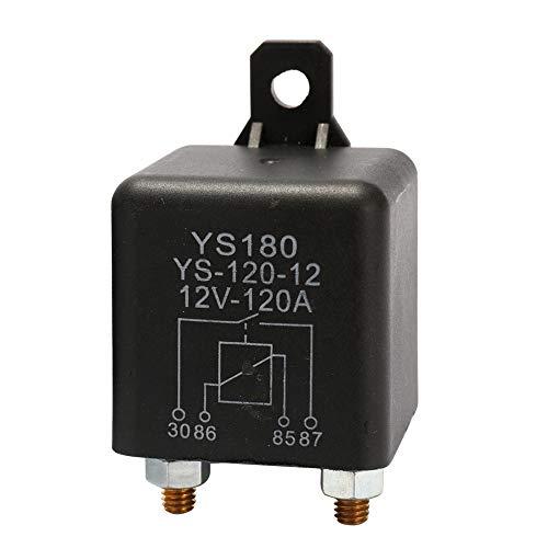 KKmoon YS180-120A DC 12V/24V Batterie Trennrelais Spitzenlast für Pkw Lkw Kfz