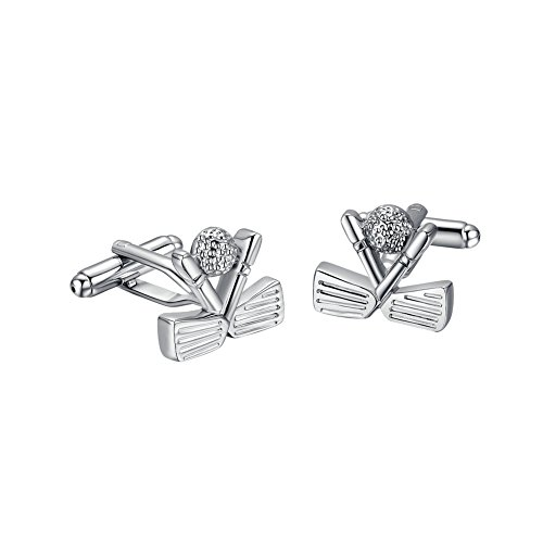 yoursfs-mens-golf-shape-of-classy-stainless-steel-cuff-links-elegant-silver-color-jewellery