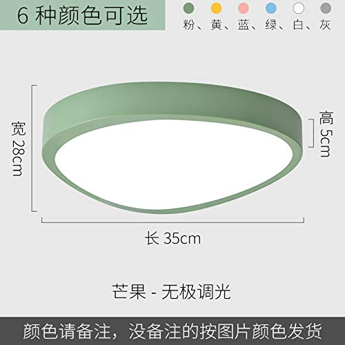 Led ultradünne minimalistische Schlafzimmer Studie Lampe Mango 35 Versprechen blau