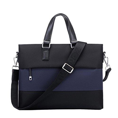 Yy.f Geschäft Beiläufige Männliche Tasche Oxford Tuch Männlicher Beutel Bewegliche Schulterbeutel Kleidungsaktenkasten Geschäftsbeutel Schulterbeutel Blue