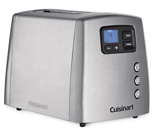Cuisinart CPT420E Toaster motorisé 2 tranches, Acier brossé