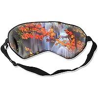 Fashion Waterfalls Schlafmaske mit Wasserfall-Motiv, super glatt, Seiden-Eyeshade preisvergleich bei billige-tabletten.eu