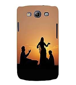 PrintVisa Dance Form Jaisalmer 3D Hard Polycarbonate Designer Back Case Cover for Samsung Galaxy S3 Neo i9300i :: Samsung I9300I Galaxy S3 Neo :: Samsung Galaxy S III Neo+ I9300I :: Samaung Galaxy S3 Neo Plus
