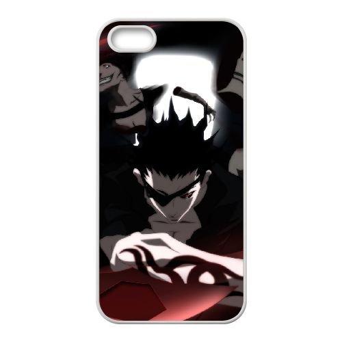 Deadman Wonderland coque iPhone 4 4S Housse Blanc téléphone portable couverture de cas coque EBDXJKNBO12585