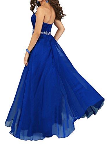 Missdressy - Robe - Trapèze - Femme bleu roi