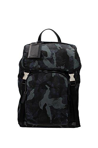 Prada-Nylon-Rucksack-Herren-Tasche-Laptop-Schulrucksack-camouflage-blu