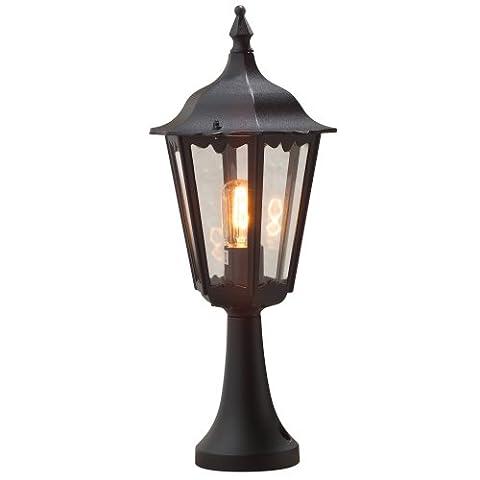 Konstsmide Basic Firenze Pedestal Post Light - Matt