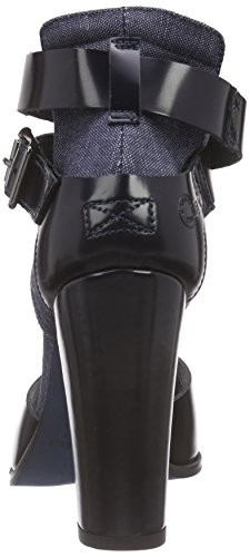 G-STAR RAW Revend Heel Sandal, Escarpins Femme Gris (chambray 3735)