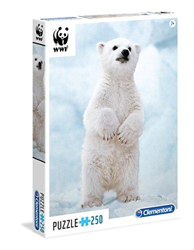 uzzle 250 WWF - Polar Bear (Polar Bear Spiel)