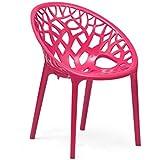 Nilkamal Crystal Chair (Pink)