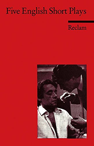 Five English Short Plays: Howard Brenton, Edward Bon, Tony Stoppard, Harold Pinter, Caryl Churchill (Reclams Universal-Bibliothek)