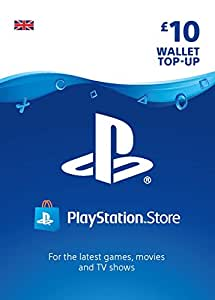 PlayStation PSN Card 10 GBP Wallet Top Up | PSN Download Code - UK account