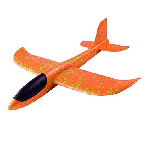 TOYMYTOY Segelflugzeug Flugzeuge Spielzeug für Kinder Kindergeburtstag (Zufällige Farbe)