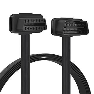 OBD2 16 Pin Verlängerung Kabel - Stecker auf Buchse Verlängerungskabel Diagnostizieren 100cm
