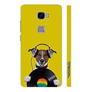 Huawei Mate S DOG RECORD designer mobile hard shell case by Enthopia