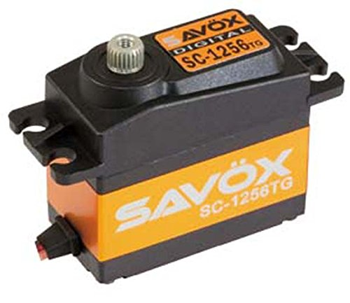 SAVOX SC-1256TG, Digitaler Servo mit hohem Drehmoment, Titangetriebe.
