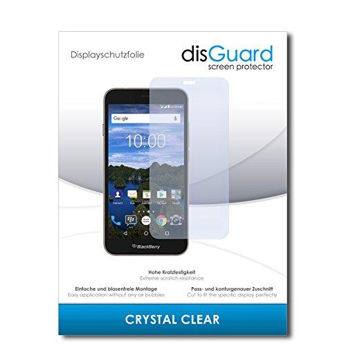 disGuard® Bildschirmschutzfolie [Crystal Clear] kompatibel mit BlackBerry Aurora [2 Stück] Kristallklar, Transparent, Unsichtbar, Extrem Kratzfest, Anti-Fingerabdruck - Panzerglas Folie, Schutzfolie