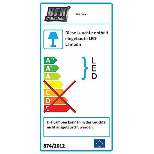 Wohnwand in Anthrazit Hochglanz RGB Beleuchtung (3-teilig) Beleuchtung Wechsellicht Pharao24 - 2