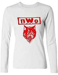 SAMMA Women's NWo The Wolfpack Long Sleeve T Shirt XXXX-L