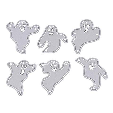 Dairyshop Halloween fantôme de coupe Dies Pochoirs Album de scrapbooking d'embossage DIY